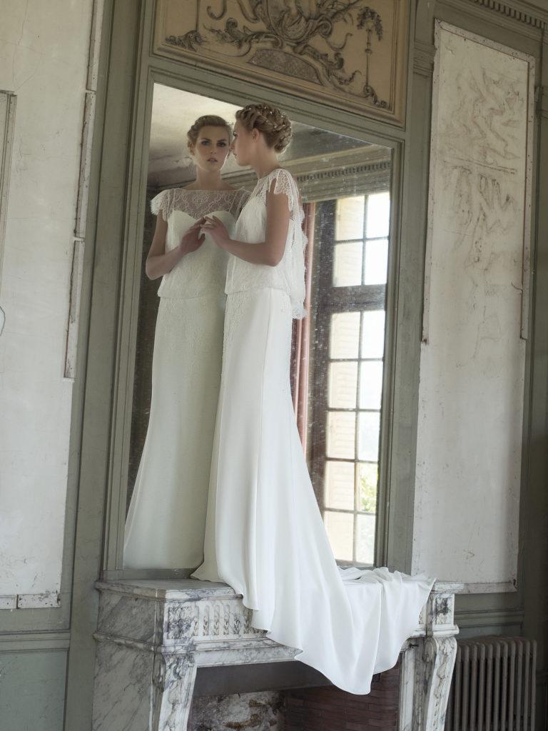 2018 Robe Collection Cymbeline Canelle De Mariée TFKJlc1