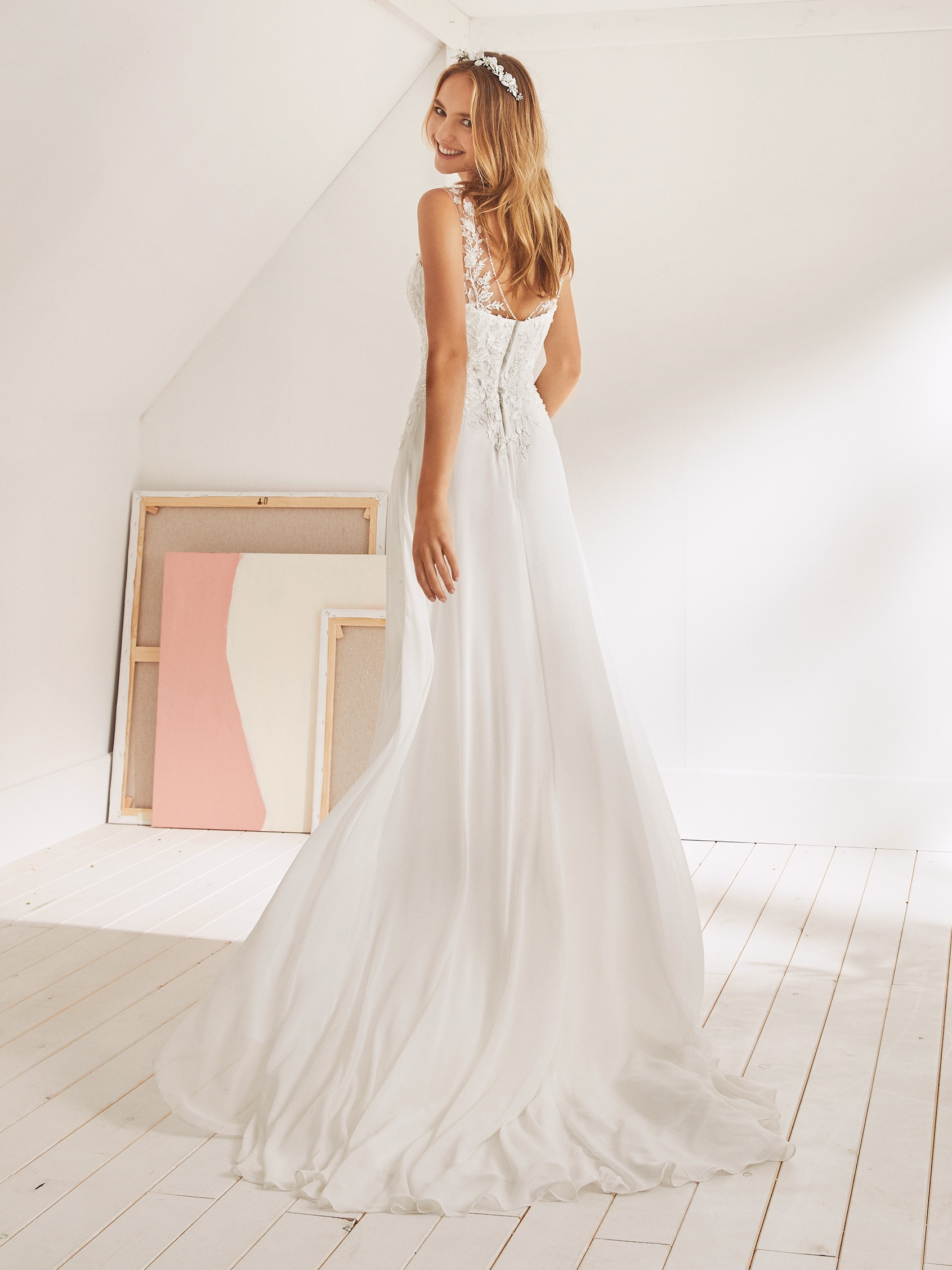 ea1ce06ea89 Robe de Mariée OSANE White one Collection 2019