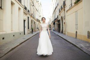 Robe de mariée Coupe en-A